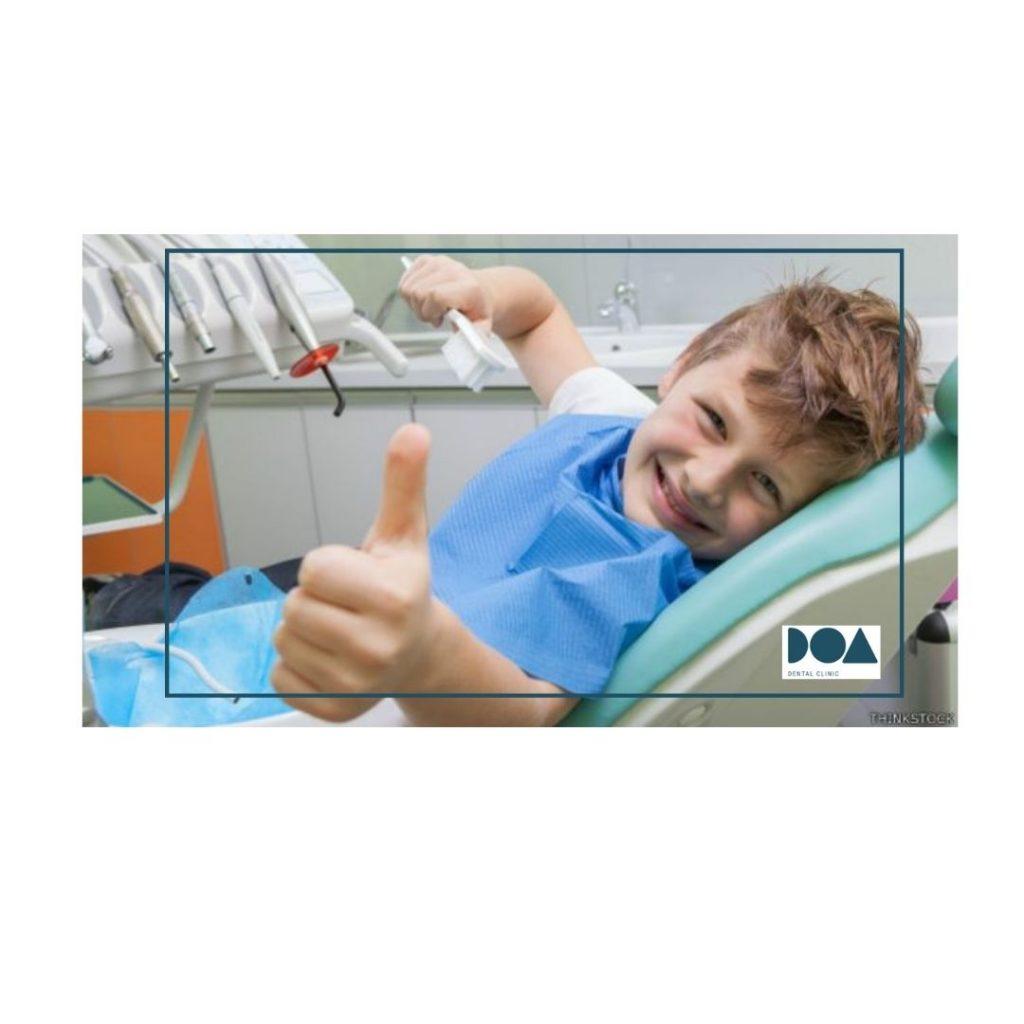 llevar hijo al dentista primera vez